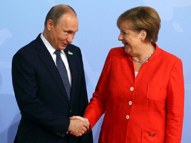 Sastanak Merkel- Putin 18. maja u Sočiju
