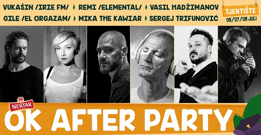 OK After Party – nova imena na Nektar OK festu