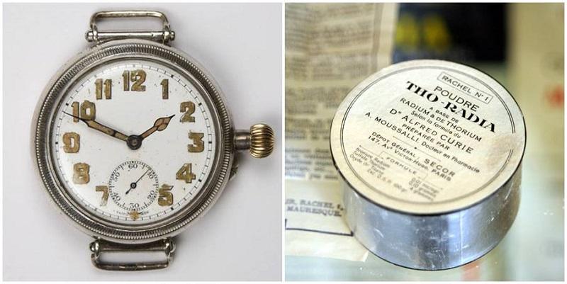 Radioaktivni proizvodi koju su svojevremeno bili u prodaji