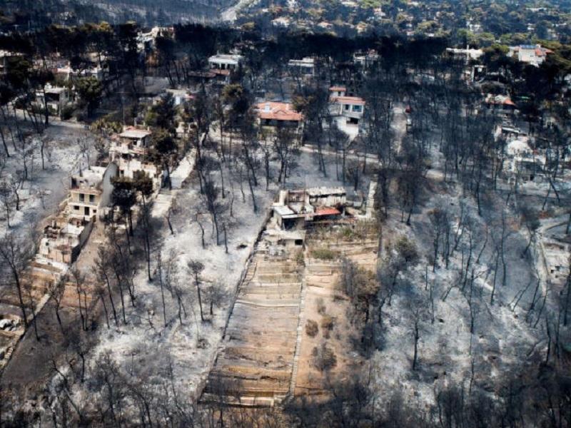 U Atini najsmrtonosniji požar u Evropi od 1900.