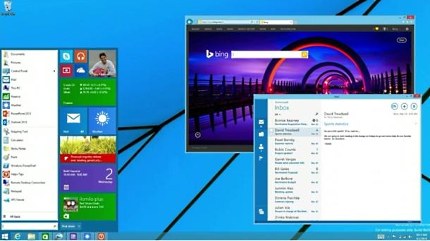Windows mijenja Start meni