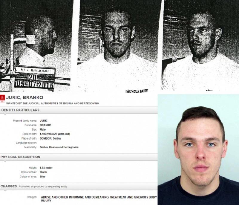 Interpol raspisao potjernicu za Brankom Jurićem