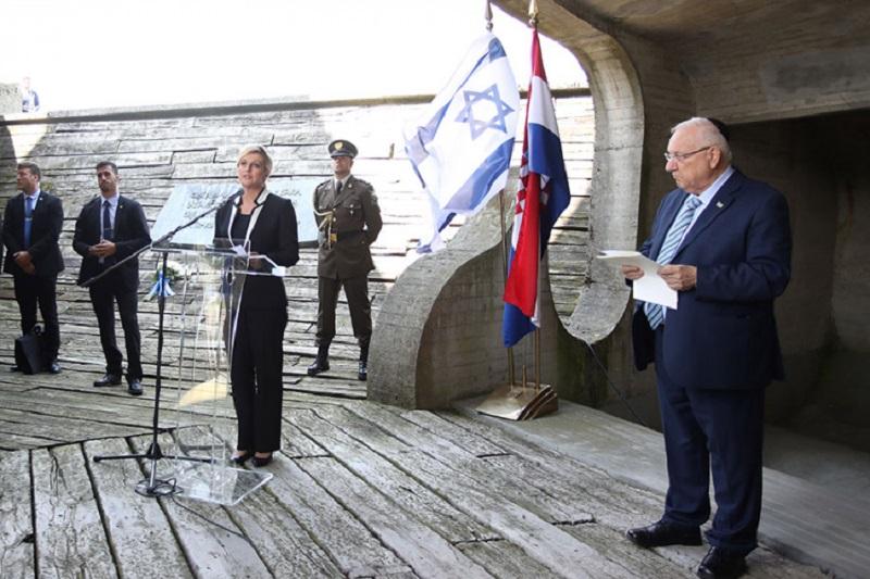 Izraelski predsjednik u Jasenovcu: Moralna obaveza Hrvatske da se suoči s prošlošću