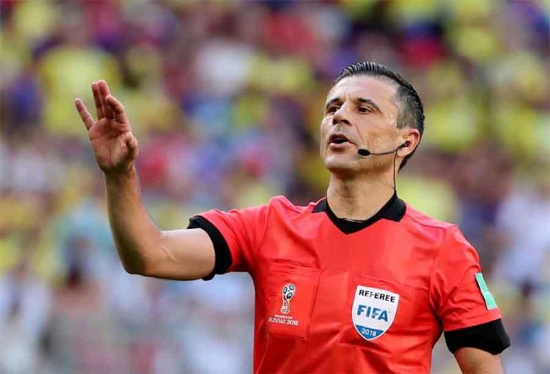 Milorad Mažić sudi derbi četvrtfinala Svjetskog prvenstva