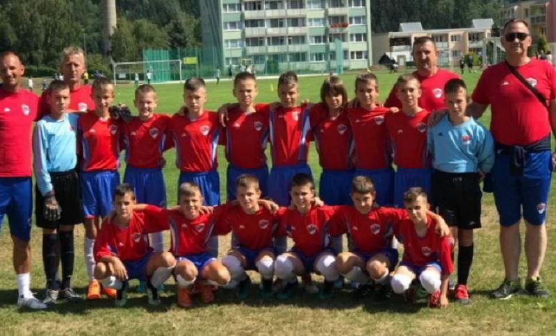Zlato u Češkoj: Mališani iz Srpske ponovo pokorili Jablonec