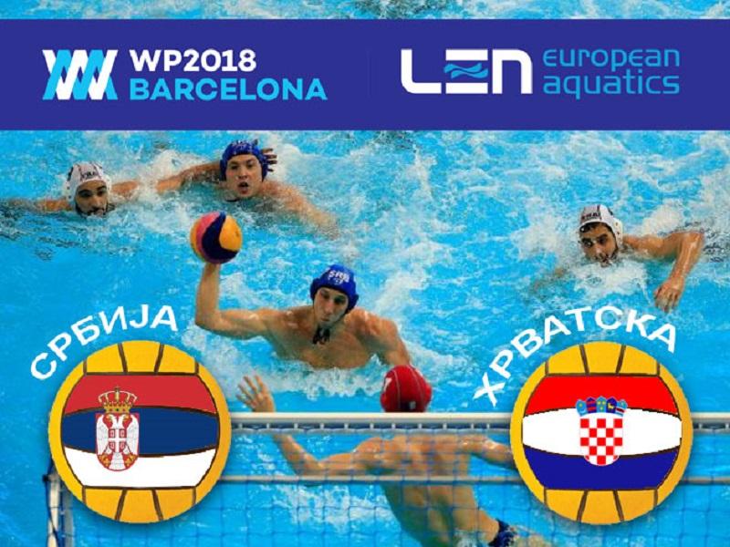 Polufinale EP u vaterpolu: Srbija-Hrvatska i Španija-Italija
