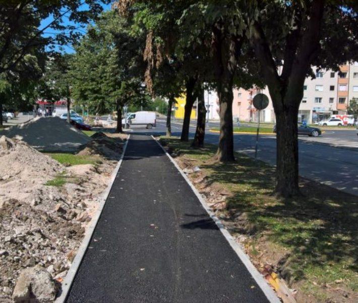 U podnožju Starčevice: Olakšan prelazak pješaka, u planu i velika biciklistička staza