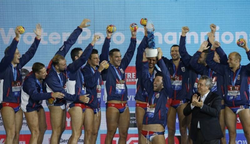 Srbija šampion Evrope u vaterpolu