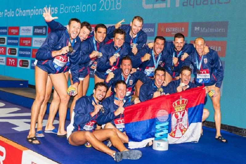 Zlatnim vaterpolistima i treneru po 20.000 evra