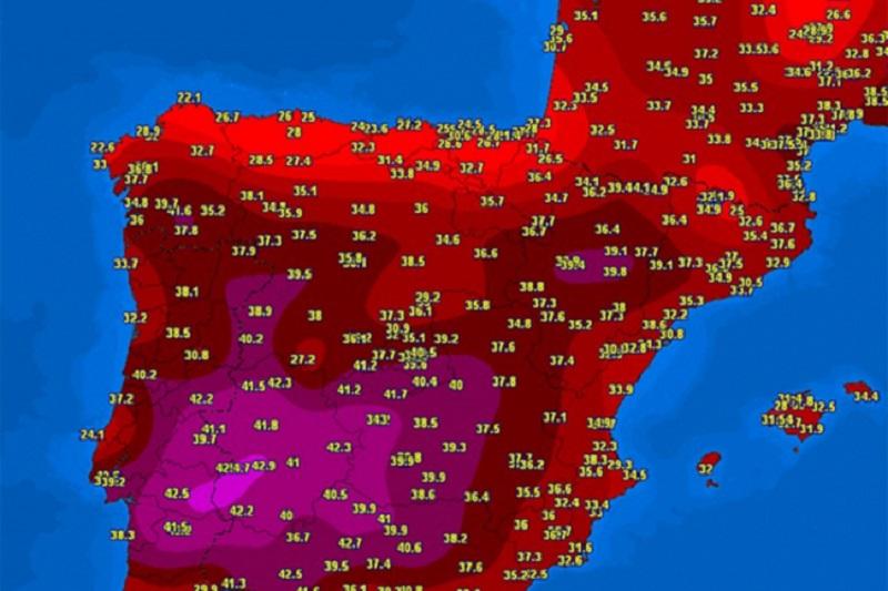 Toplotni talas prži Evropu, prijeti i BiH