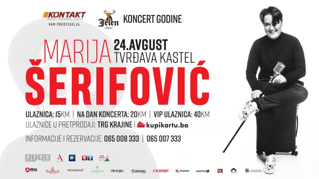 Marija Šerifović zakazala novi spektakl u Banjaluci za 24. avgust