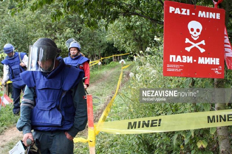 Donatori prijete da će obustaviti novac za deminiranje u BiH