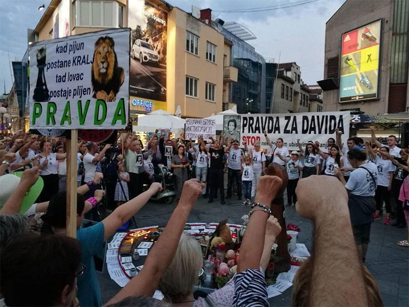 Građani i danas pružili podršku porodici Dragičević