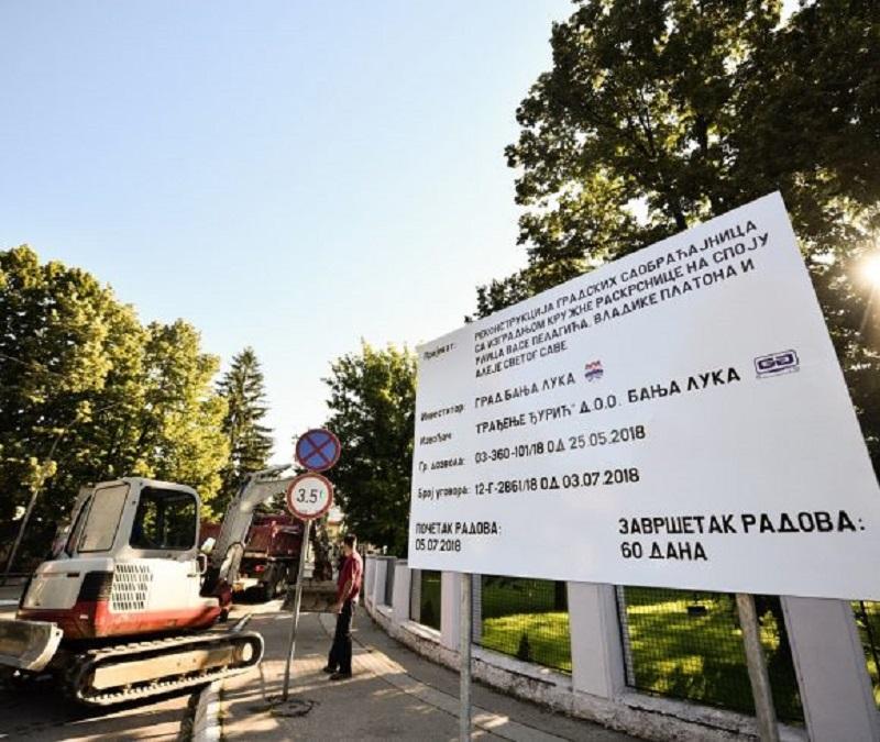 Obustava saobraćaja u Aleji Svetog Save od 9. do 11. avgusta