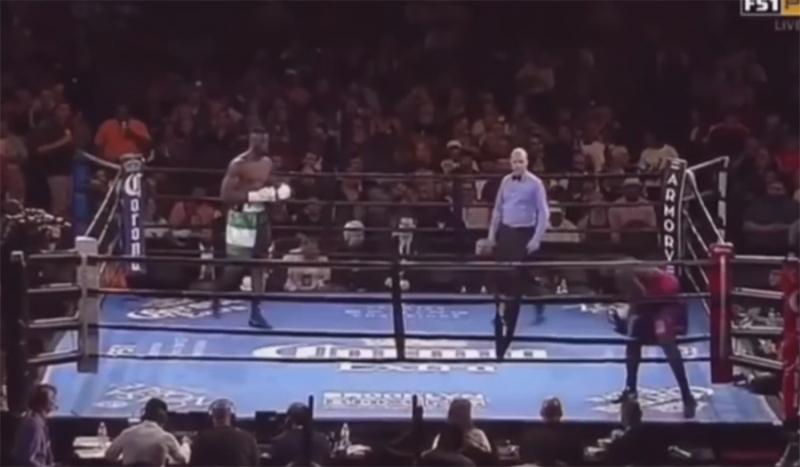 Bokserski meč trajao sekundu (VIDEO)