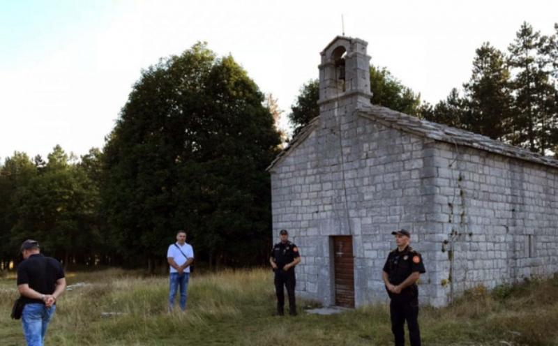 Crnogorska policija zabranila preobraženjsku liturgiju