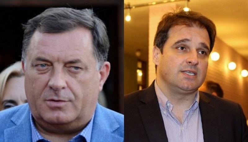 Dodik: Kad vidim Govedaricu, ne znam gdje se nalazim; Govedarica: Do kraja došla Dodikova politika