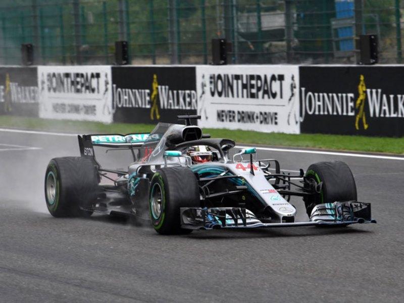 Hamilton ubjedljivo do pola u Belgiji