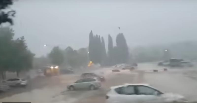 Jako nevrijeme u Hrvatskoj, padavine stižu i kod nas (VIDEO)