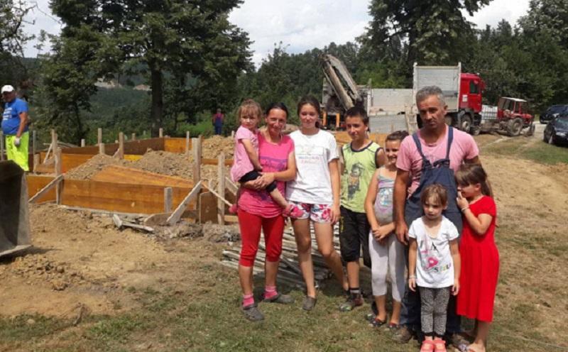Niče nova kuća za osmočlanu porodicu Milinković