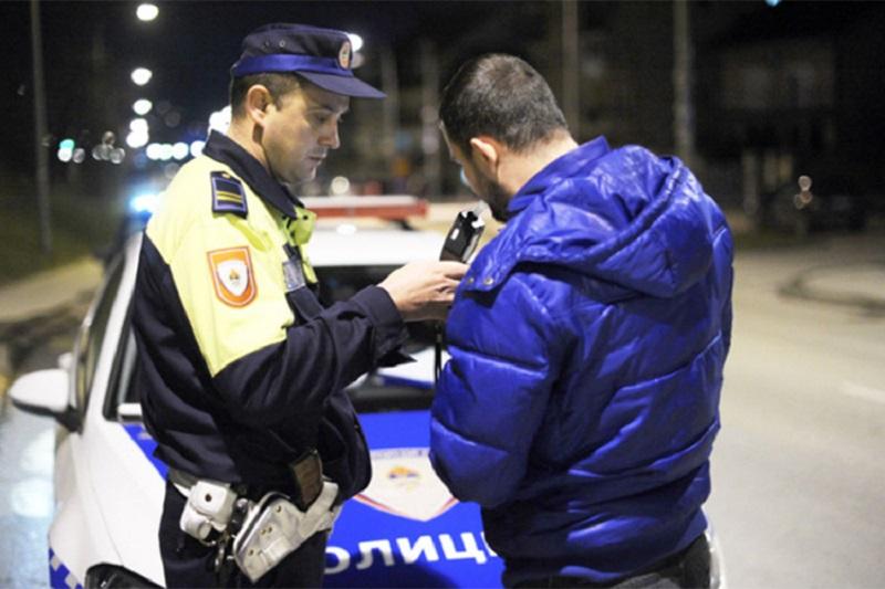 Kontrola vozača tokom vikenda na alkohol i drogu