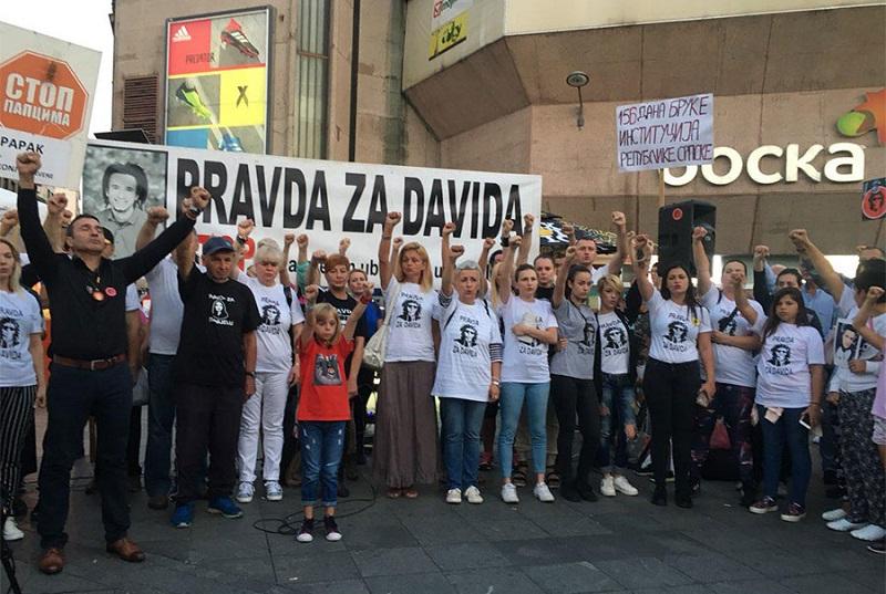 """Davor Dragičević sa Trga Krajine: """"Advokati će nastaviti da rade svoj posao, a mi kako smo i do sada"""""""