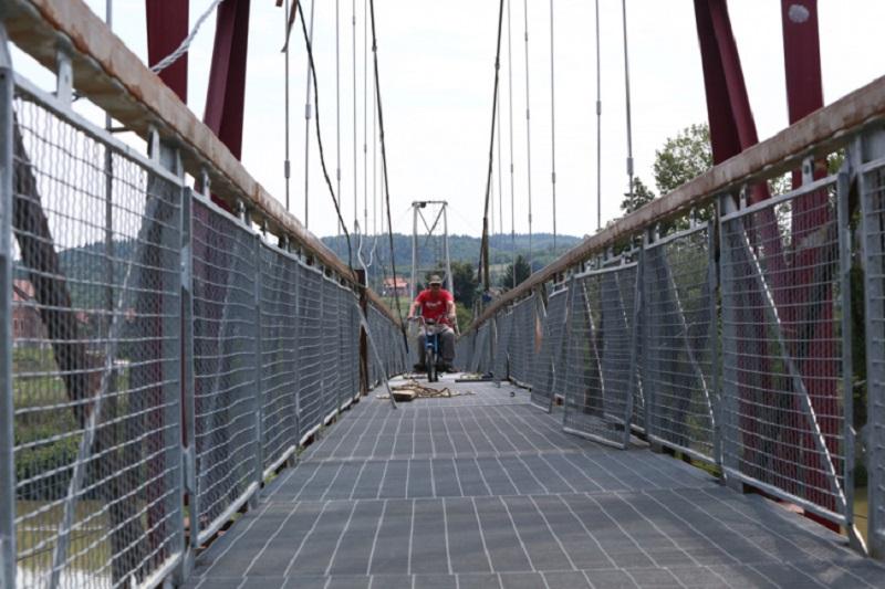 Most u Priječanima prošao test nosivosti, uskoro u funkciji