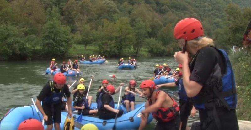 Oko 120 učesnika uživalo u 14 kilometara vožnje na Vrbasu (VIDEO)