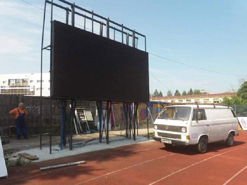 Srušen zimus: Semafor ponovo na Gradskom stadionu u Banjaluci