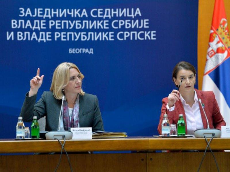 Zajednička sjednica vlada Srpske i Srbije 29. avgusta u Trebinju