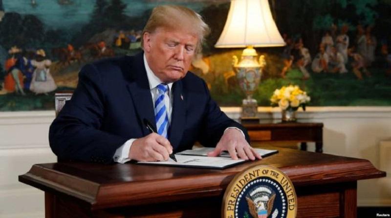 Tramp potpisao: Sankcije Iranu