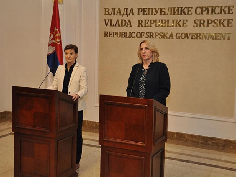 Zajednička sjednica vlada Srpske i Srbije sutra u Trebinju