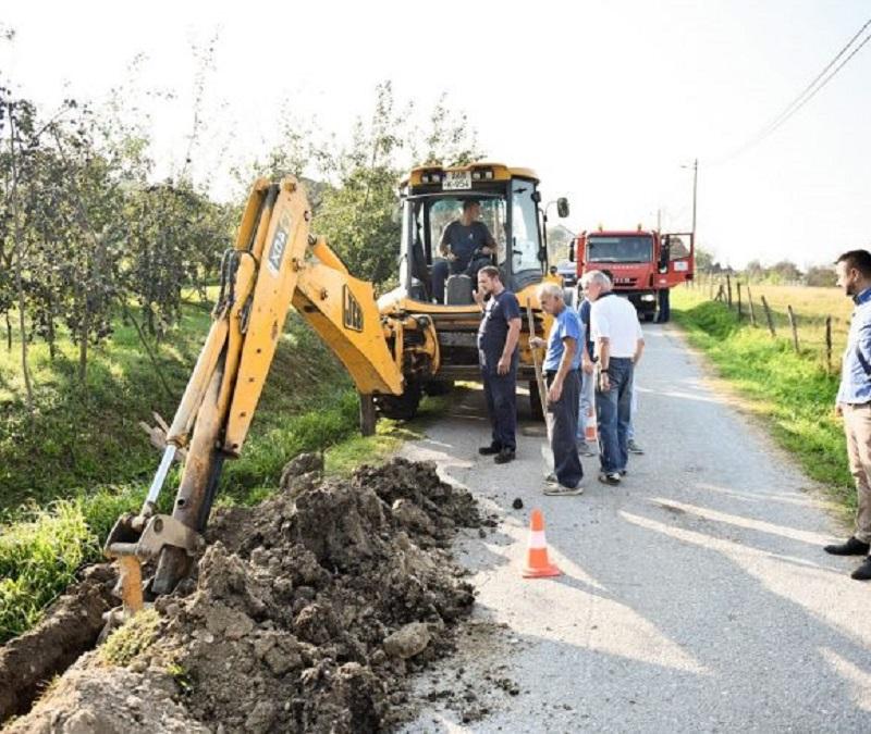 Počela izgradnja vodovoda u Borkovićima
