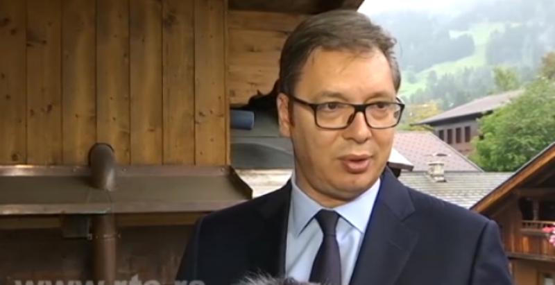 Vučić: Menjali granice, sad im smeta da Srbi nešto dobiju