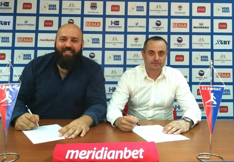 Kladionica Meridian novi sponzor RK Borac m:tel