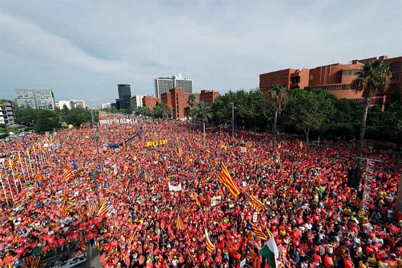 Milion ljudi na ulicama Barselone