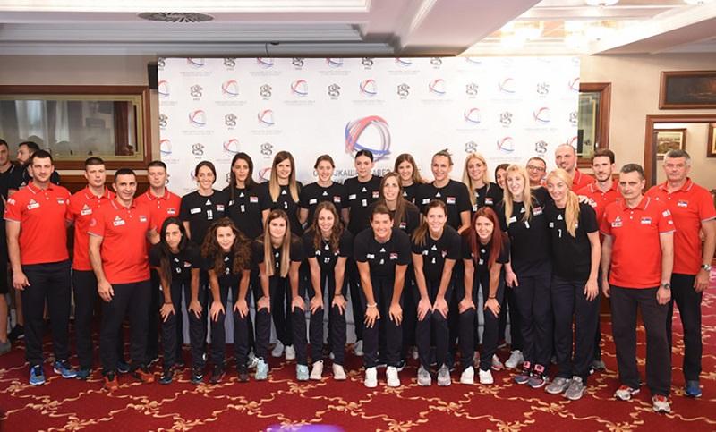 Evropske šampionke u Banjaluci: Odbojkašice Srbije na završim pripremama za Svjetsko prvenstvo