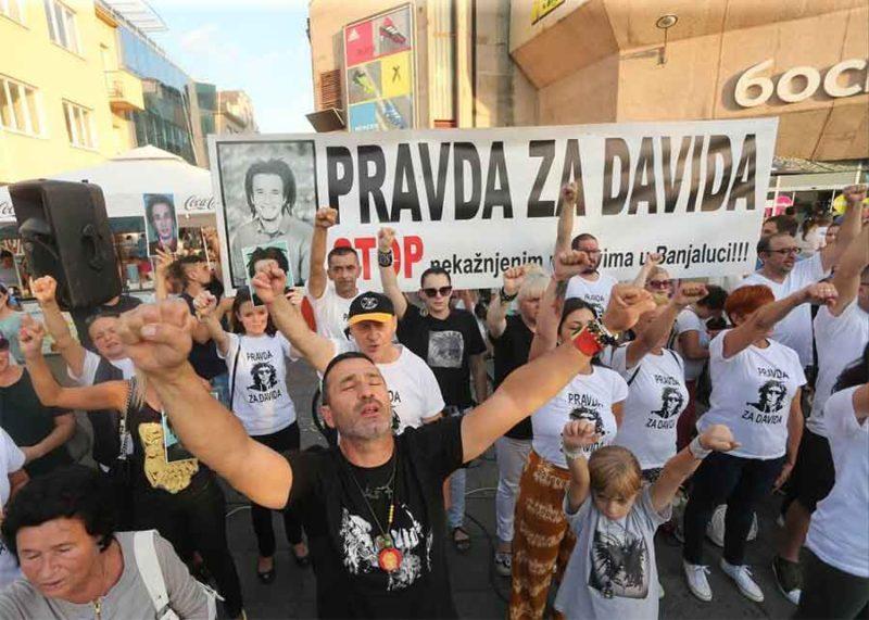 """Davor Dragičević sa Trga Krajine: """"Pisao sam svim političkim partijama, interesuje me samo istina"""""""