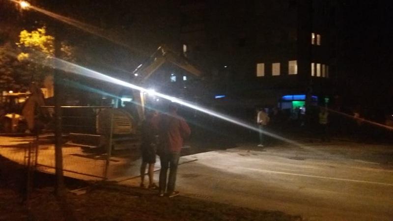 Banjaluka: Dio Starčevice bez struje i vode, oštećen cjevovod u Bulevaru Stepe Stepanovića