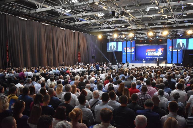 Skupština SDS-a u Banjaluci