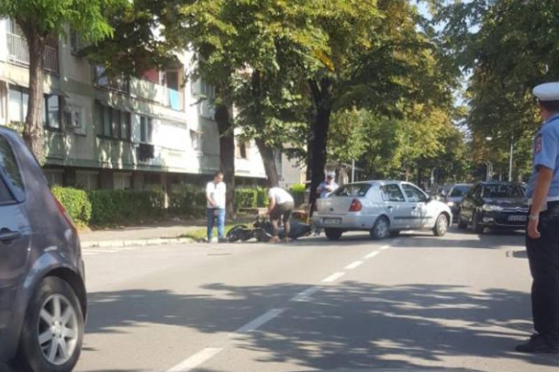 Sudarili se motocikl i auto u Banjaluci