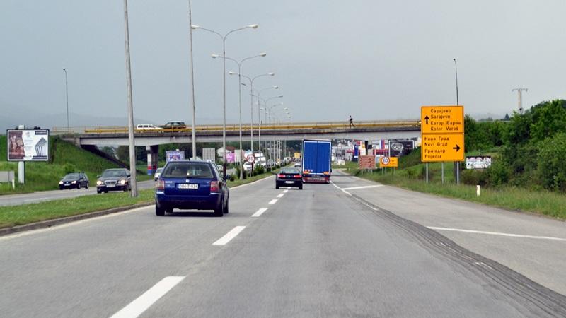"Banjaluka: Policija kaznila ""paklenog vozača"" s tranzita"
