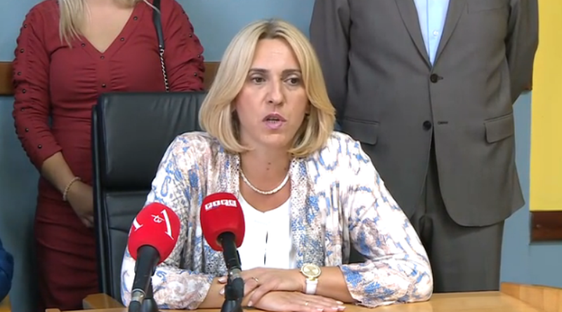 Cvijanovićeva o dešavanju u Čelincu: Čista režija (VIDEO)
