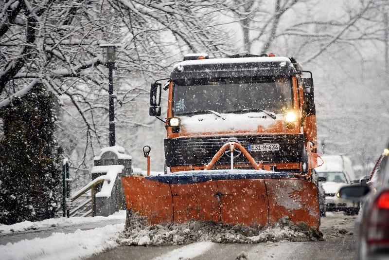 Zimska sezona: Snijeg će čistiti 57 kamiona