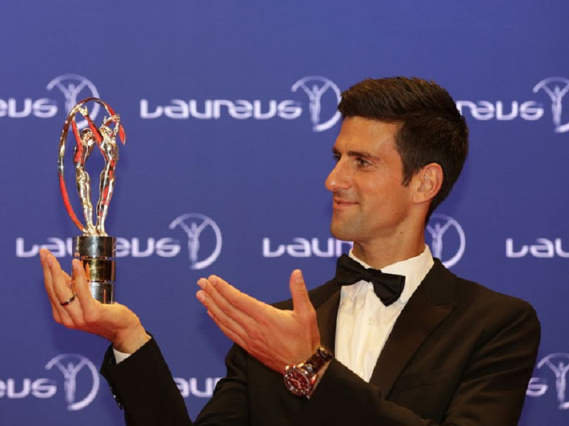 Đoković najbolji sportista svijeta