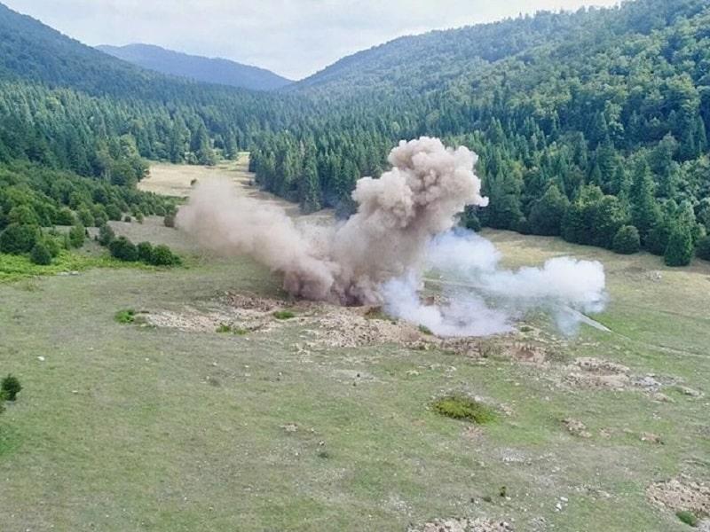 Uništene sve četiri avio-bombe