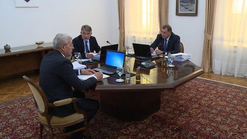 Redovna sjednica Predsjedništva BiH, nepoznat dnevni red