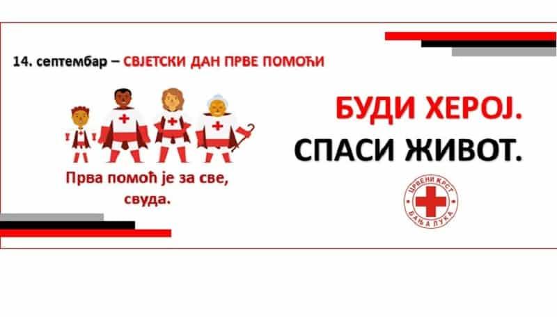 Svjetski dan pružanja prve pomoći u Banjaluci 14. septembra