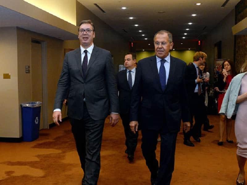 Vučić – Lavrov: Ne smije biti kršenja Dejtonskog sporazuma