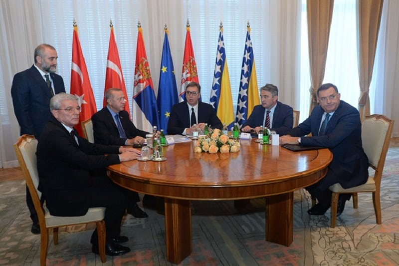 Počela trilaterala Srbija-Turska-BiH